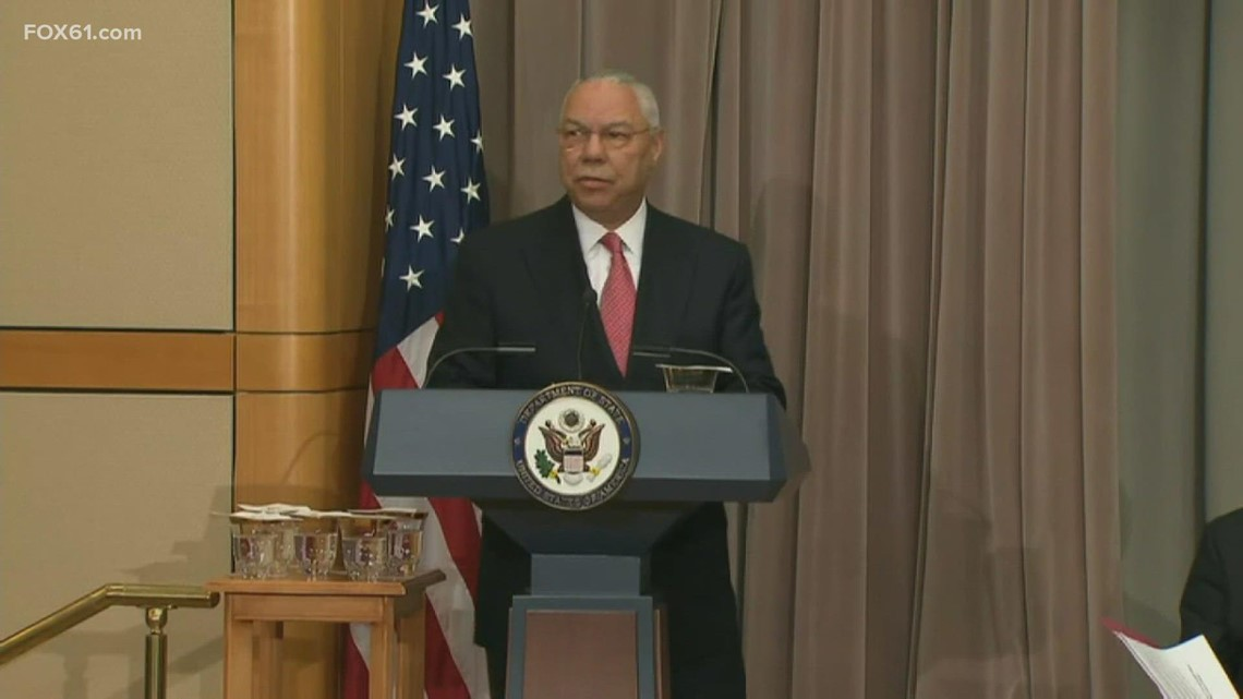 State mourns Colin Powell