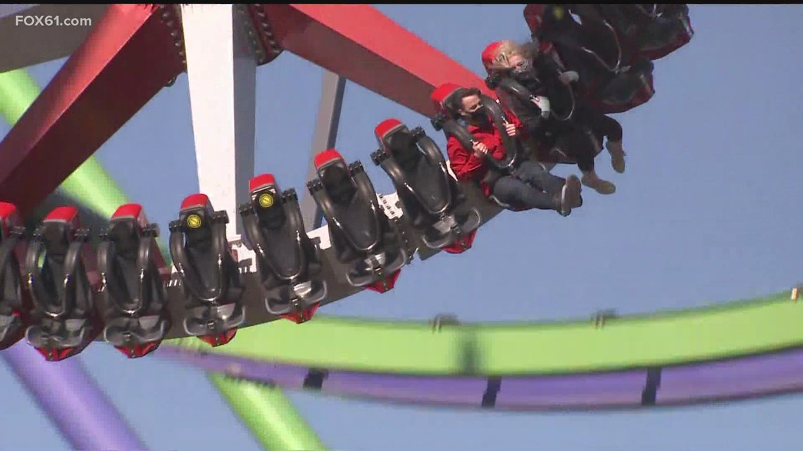 Daytrippers: Keith and Margaux take on rides at Six Flags New England