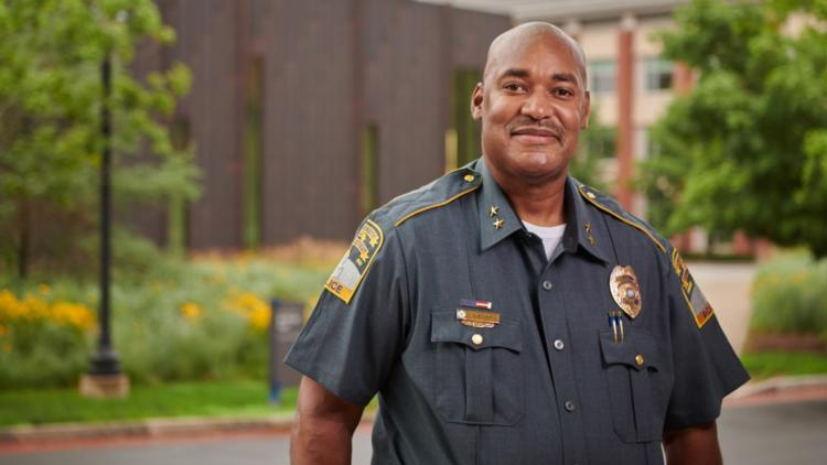 UConn Chief of Police Gerald Lewis, Jr. named the nation's Campus Safety Director of the Year