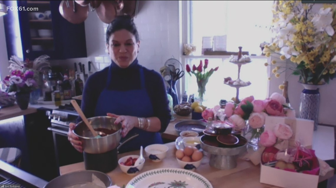 Meal House: Ani's Table shares how to make easy at-home romantic Valentine's day dessert
