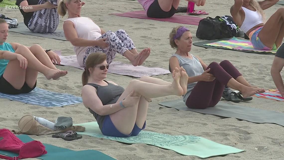 CT Bucket List: Beach yoga