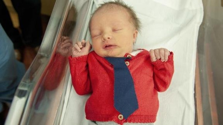 Newborn Babies At A Pittsburgh Hospital Dressed Up As Mr Rogers For World Kindness Day Fox61 Com