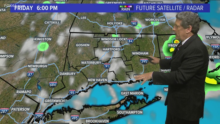 Comfortable, mainly dry weather continues Friday and Saturday