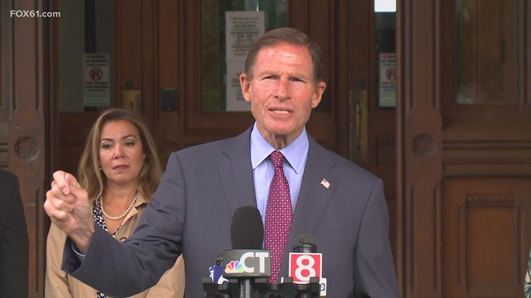 Blumenthal, Merrill push for passage of John Lewis voting rights act