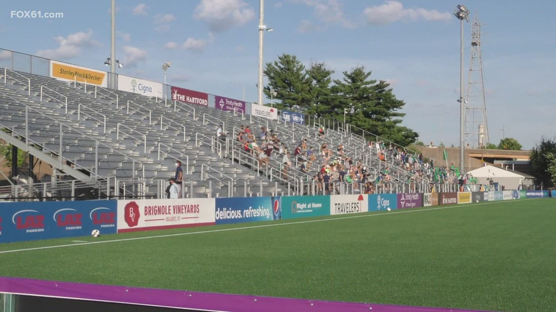 Hartford Athletic to open stadium to 50% capacity for first home game