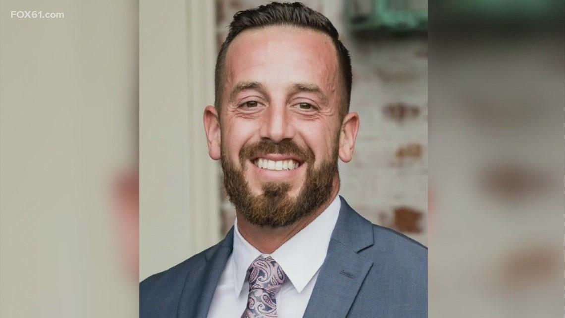 New Haven police salute fallen colleague