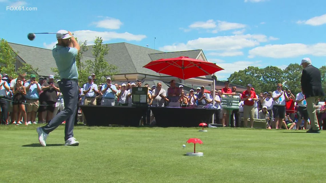 Travelers Championship: Back on the course