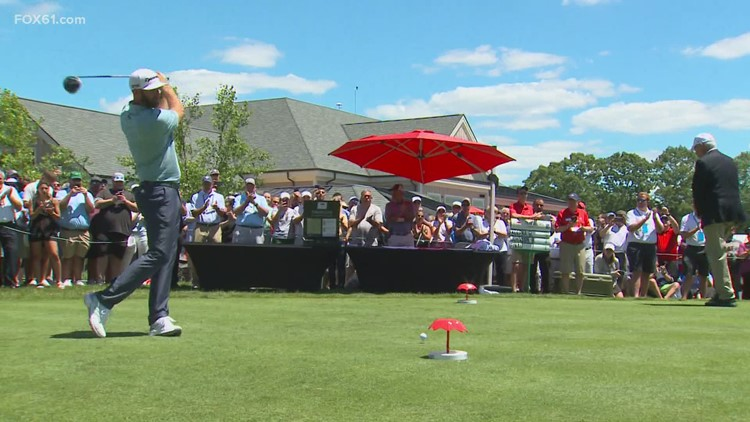 Tournament play begins in Cromwell and happy crowds follow their favs