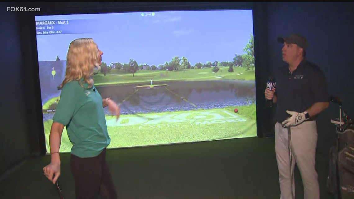 Daytrippers: Learning about virtual golf at Oakwood Virtual Golf in Glastonbury