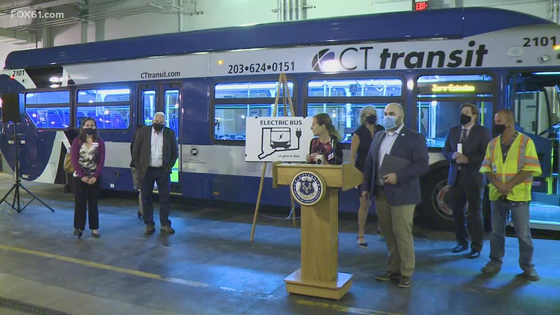 First CT Transit bus to fully run on electricity revealed