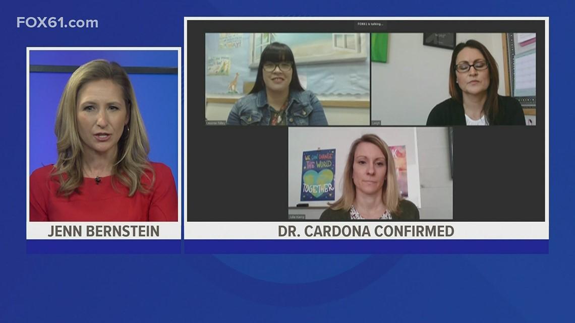 The Real Story: Teachers praise Dr. Cardona