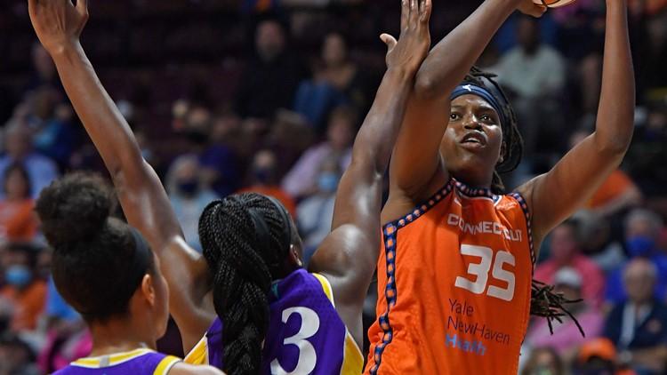 Connecticut Sun take No. 1 spot in WNBA playoffs