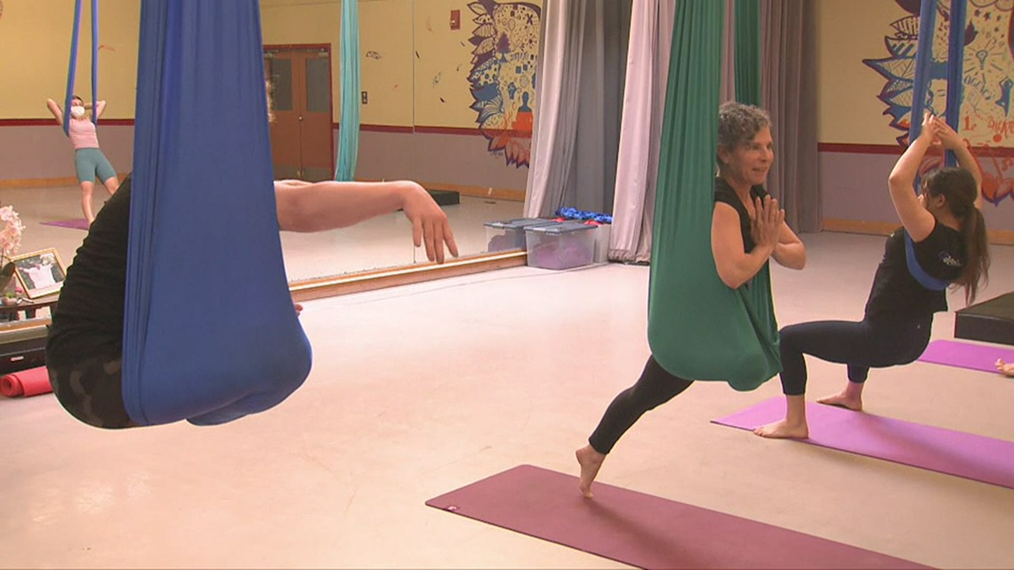 CT Bucket List: CT Aerial Yoga in Hartford