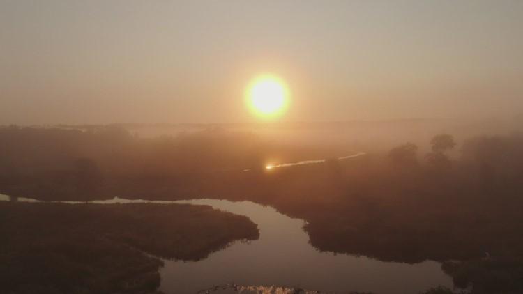 SKY61: Bantam river fog