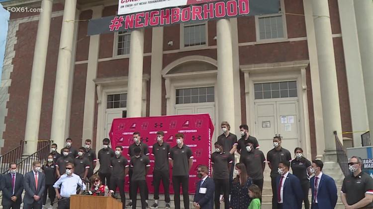 West Hartford declares April 28 as 'Hartford Men's Basketball Day'