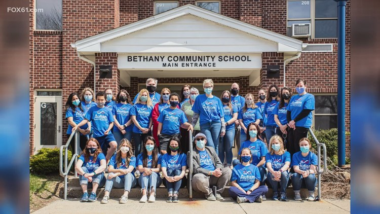 Bethany student and teachers team up for Autism Awareness Month