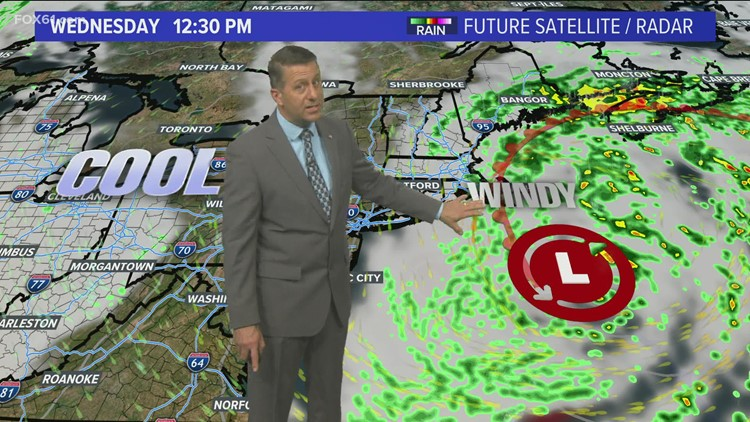 Nor'easter ready to bring wind and rain early this week