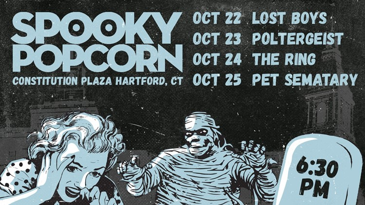 Hartford gets spooky with free outdoor horror movie screenings on Constitution Plaza
