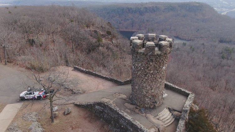 Sky61: Castle Craig in Meriden