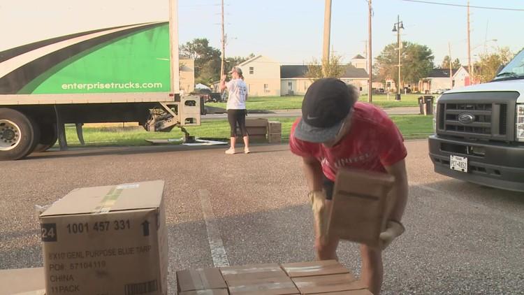 Ida-impacted Louisiana residents receive help from United Way