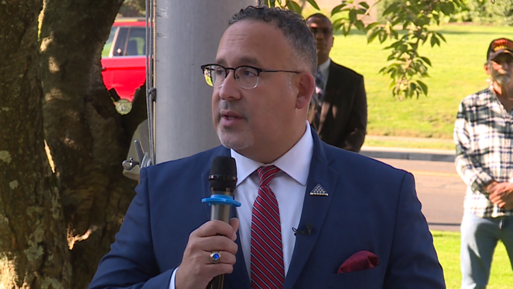 U.S. Secretary of Education Dr. Miguel Cardona visits Meriden for 9/11 remembrance ceremony