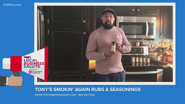Local Business Salute: Tony's Smokin' Again Rubs & Seasonings