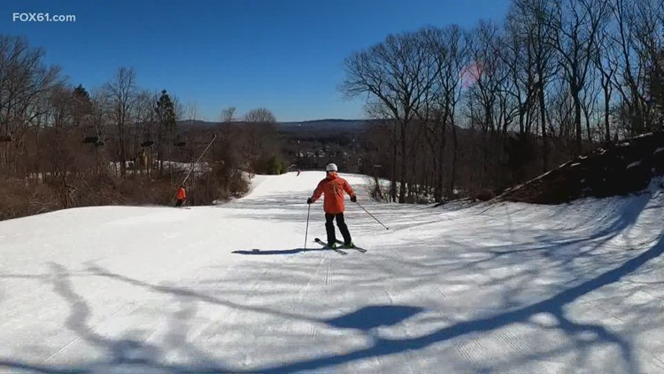 The low temps in March, warmly welcomed at Mount Southington