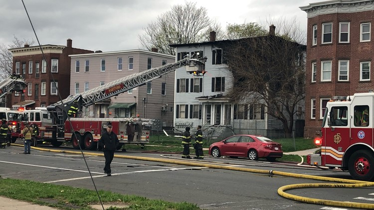 Four families displaced by 2-alarm fire in Hartford