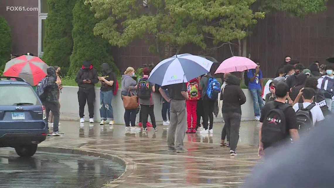 New Britain students head back to school