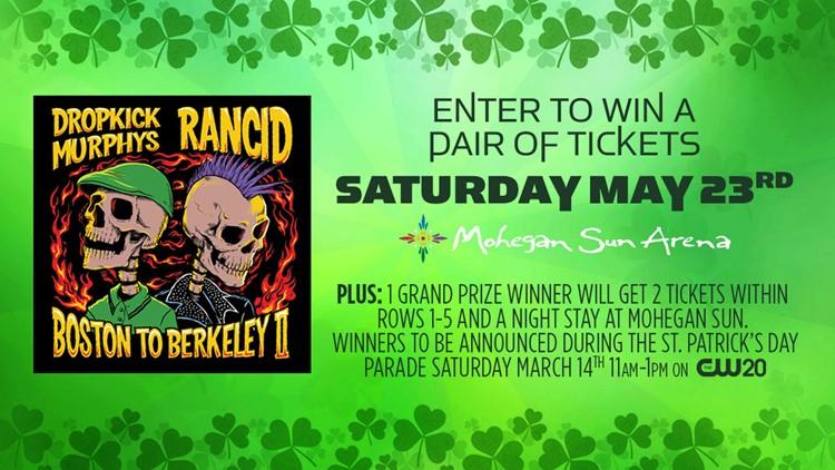 Win tickets to Dropkick Murphy's!