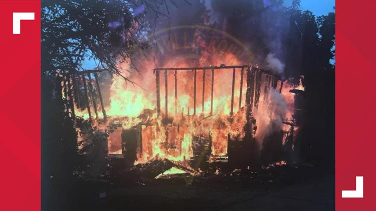 Suspicious fire burns down Norwich house built in 1880
