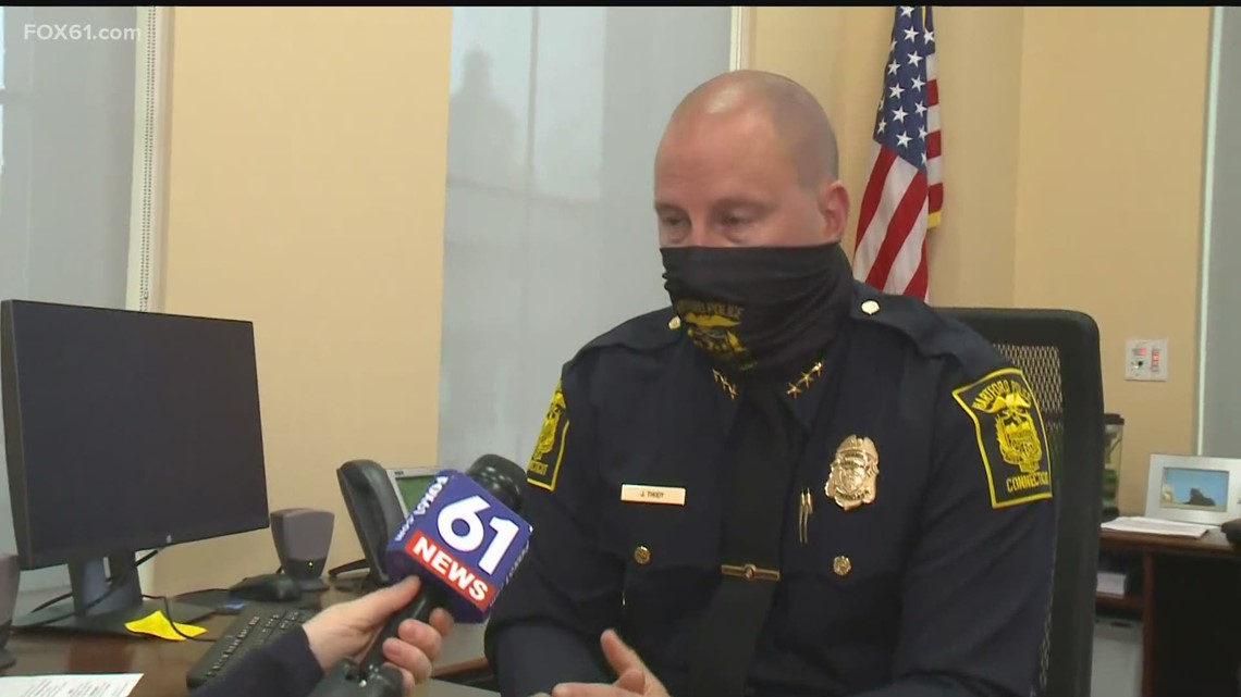 Hartford Police Chief Jason Thody discusses new updates in two fatal shooting investigations