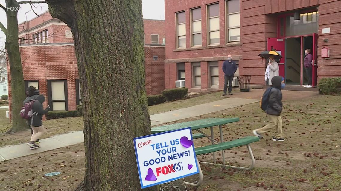 Hartford student prepare to return to in-person classes