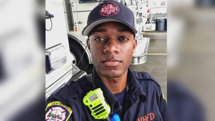 Injured New Haven Fire Department Lt. Samod Rankins starts scholarship with all 50k raised for him