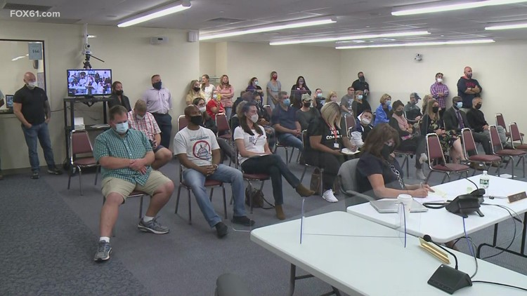 South Windsor parents fight masks mandates in schools at board of education meeting