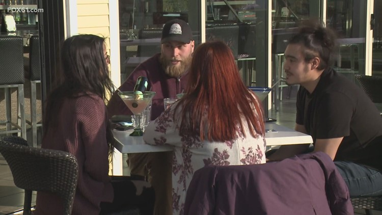 Businesses, patrons excited as CT rolls back some restaurant restrictions