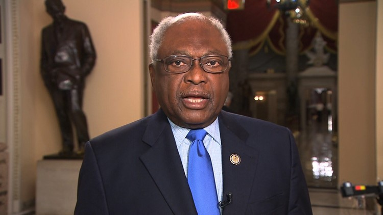 Rep. James Clyburn: I am not going to be intimidated by anybody ...