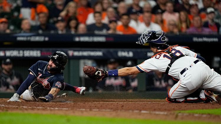 Atlanta Braves beat Houston Astros to win Game 1 of World Series