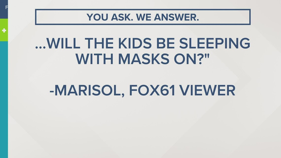 You ask. We Answer | Will kids be napping at school with their masks on?