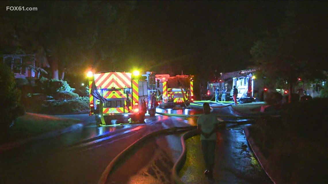 Firefighters respond to condo fire in Waterbury
