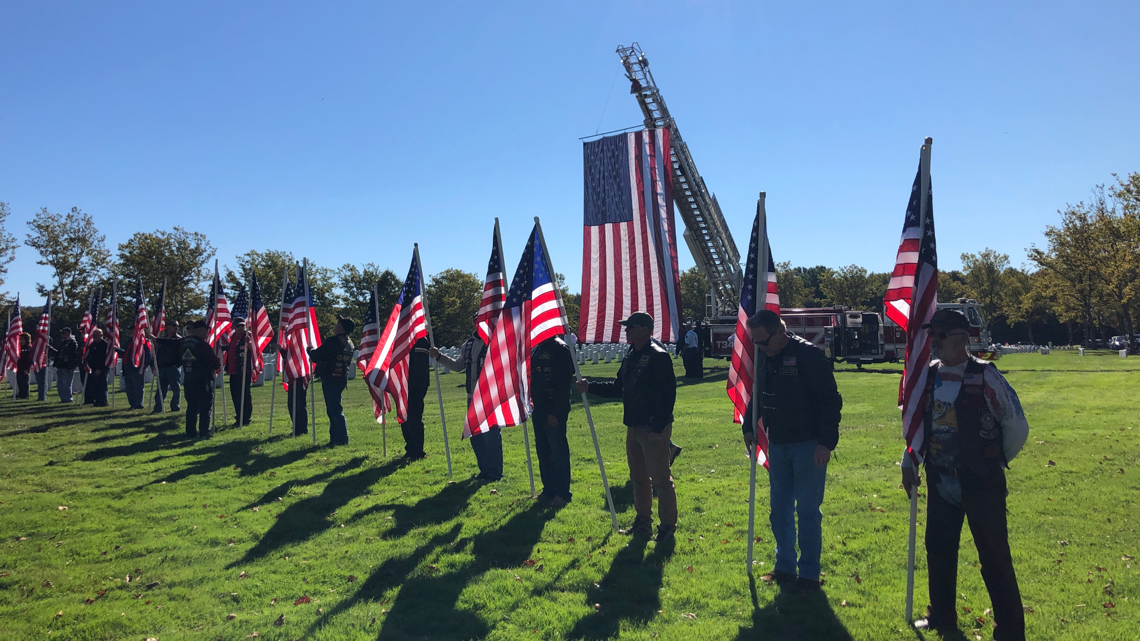 CT veterans whose remains were unclaimed get funeral in Middletown