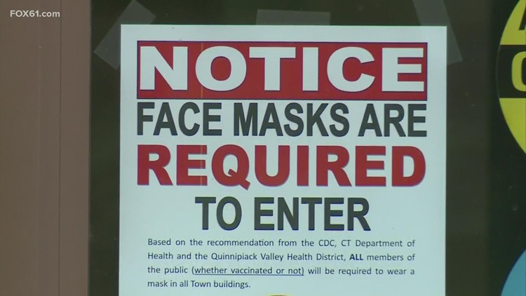 These are the CT cities and towns that have issued new mask mandates