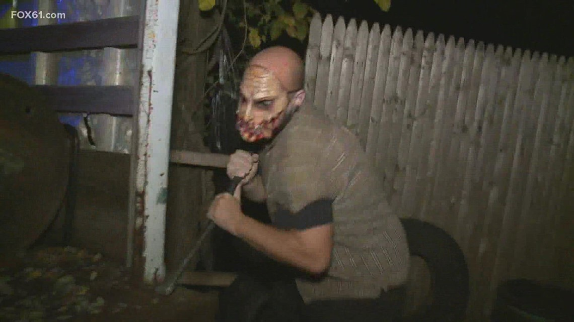 Haunted houses return to Connecticut