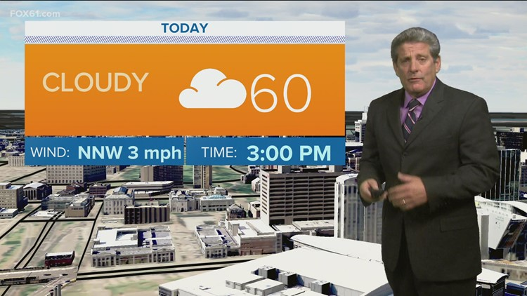 More clouds, spotty shower Saturday; Brighter and warmer for Mother's Day