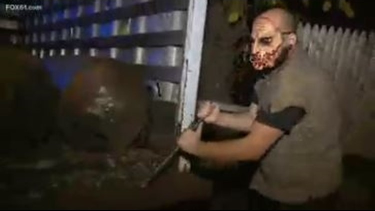 Haunted houses return to Connecticut ahead of Halloween