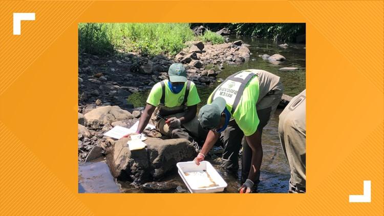 Team Of Teens Get Their Feet Wet In Waterbury To Clean The River Fox61 Com