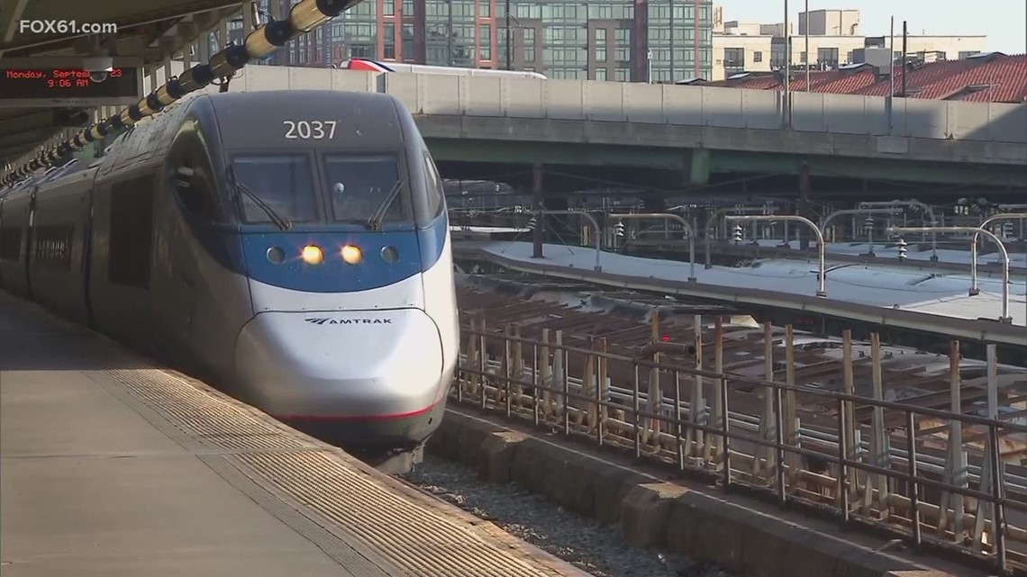 Lamont: Faster rail service planned for Connecticut