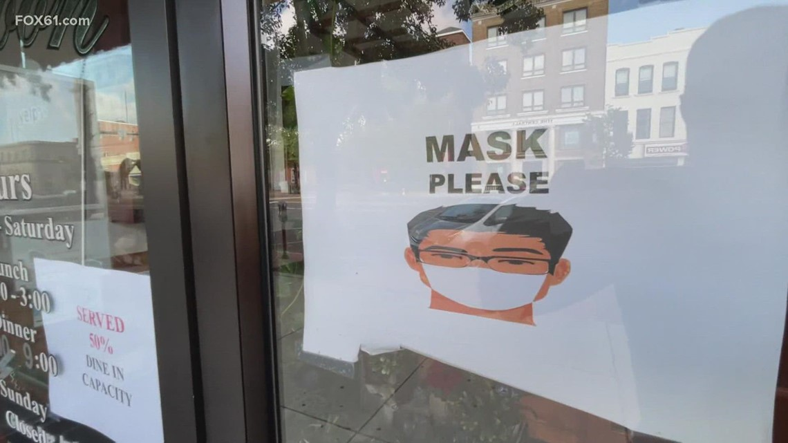 CT residents react as mask requirements return for some municipal buildings, businesses
