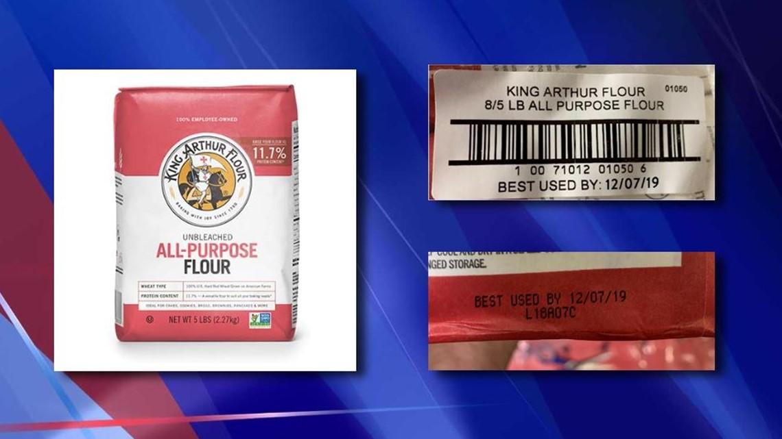 King Arthur Flour issues recall for