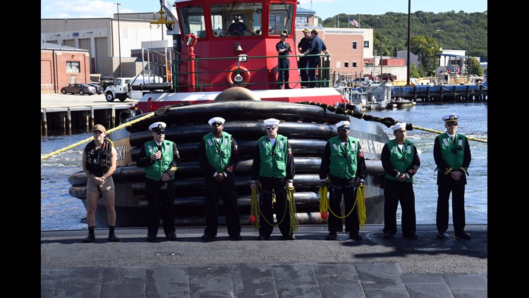 USS Montpelier returns to Groton